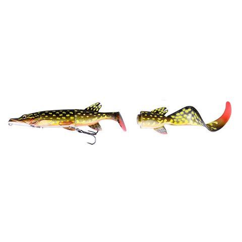 50230 Savage Gear Pike 3D Hybrid 02 Yellow-Pike