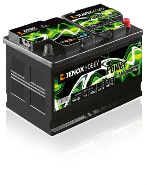 Janox Hobby Akumulatora 12v 100Ah
