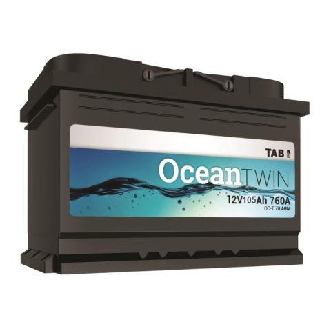 Battery Tab OCEAN TWIN