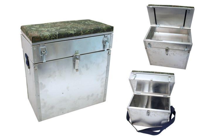 Alumīnija kaste Akara Ice Fisher II