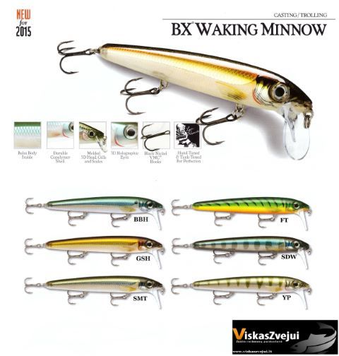 Rapala BX Minnow Waking NEW