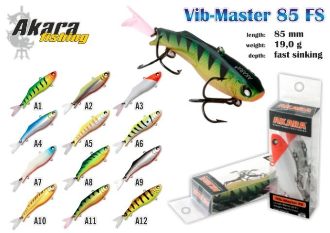 Bilance AKARA Vib-Master 85 FS