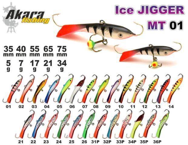 Ķīli Ledus šķirotājs 01 MT-