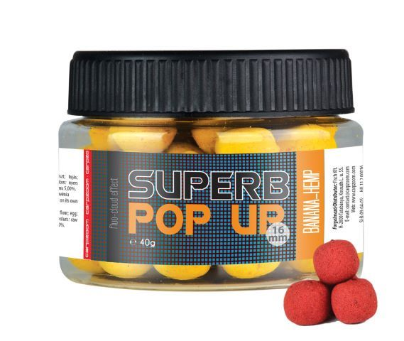 Boiliai CarpZoom Superb pop up