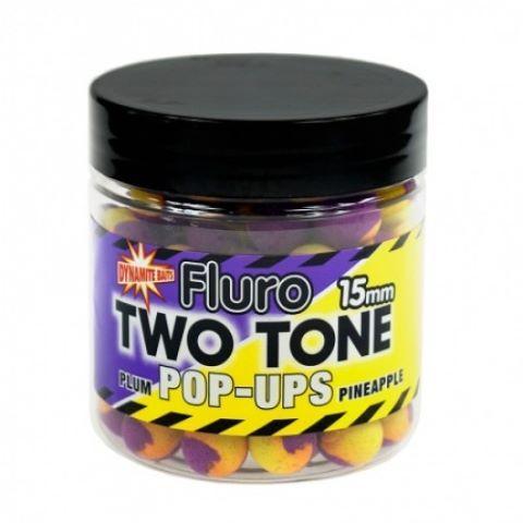 Boilijas, kas peld divas vienas plūmes un ananāsu Fluro pop-Ups 15mm