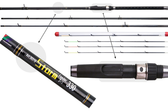 Grunts rod «STORM Feeder» 30310 3X