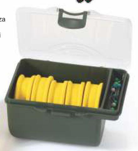 Kaste pavadām, sistēmām / EXC RIG BOX 60-3722