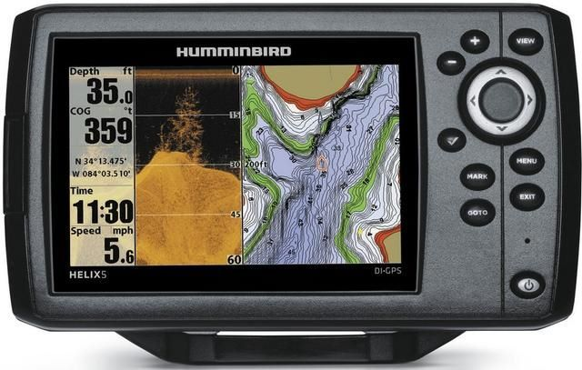 Sonar Helix 5x Šis GPS ierīci