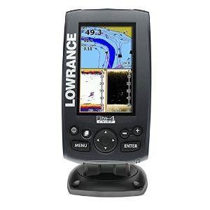 Sonar Lowrance Elite-4 impulsi 83/200 455/800 kH