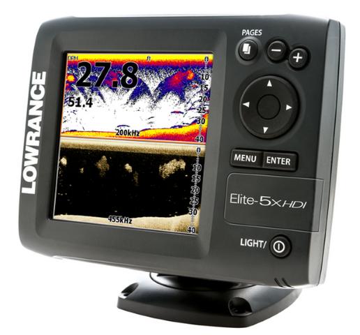 Echo stabilāks Lowrance Elite-5x HDI