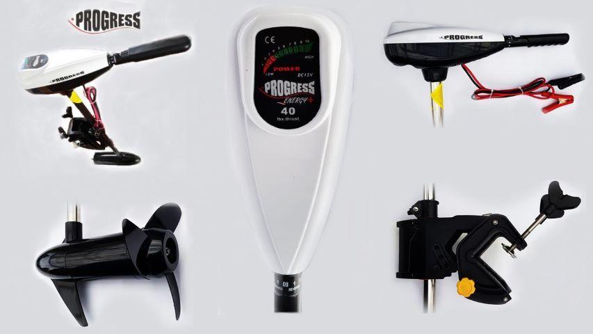 Elektromotors PROGRESS Energy + 50 Lbs