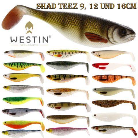 Gumijas Westin ShadTeez 16cm