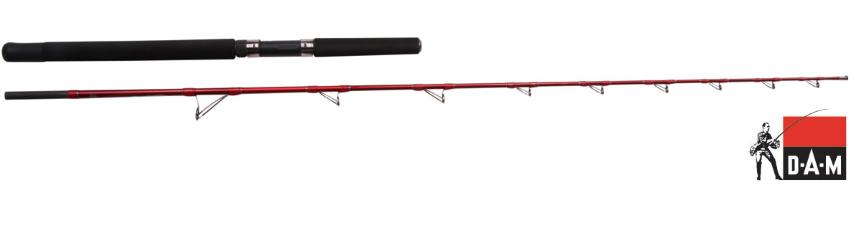 Jūra stienis DAM SteelPower Red 300-800g