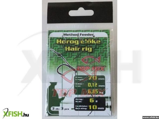 Metode Feeder Āķi Hook Ēsma garums ar Stig # 4 / 10mm