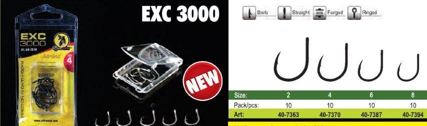 Āķu griezēji EXC 3000