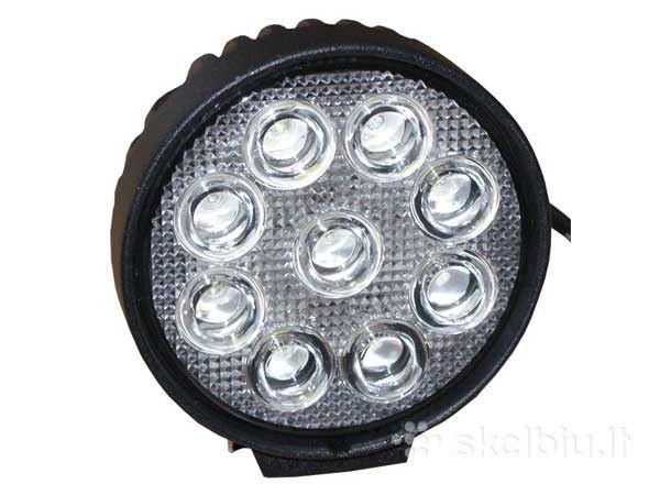 LED lampas 27W 12V