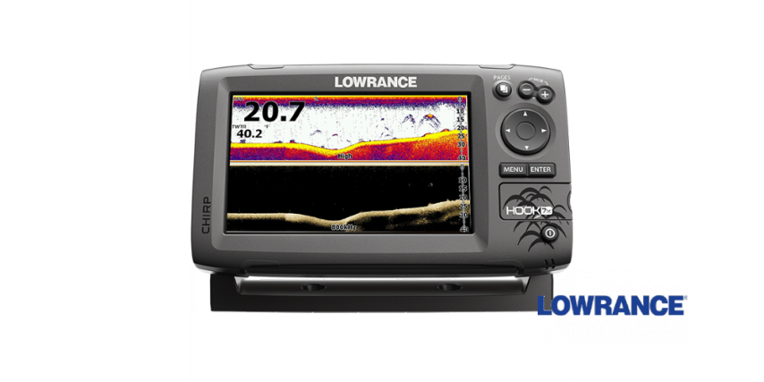 Lowrance HOOK-7x Mid / High / Downscan