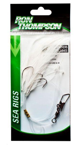 Skumbrijas Feathers White / Flash