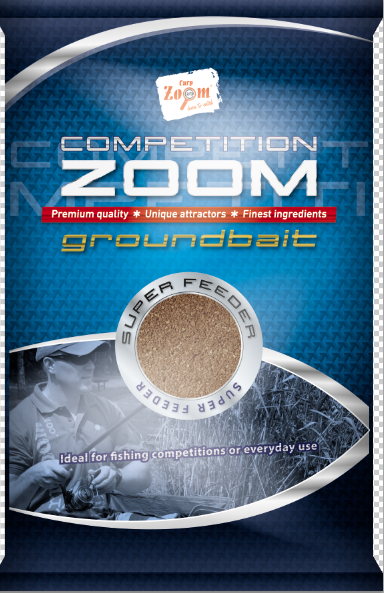 Barības CarpZoom Konkurences 1 kg Zoom