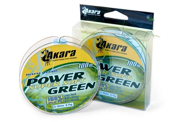 Pīti line AKARA Power Super Soft Green