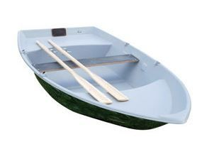 Amber 300 Plastic Boat  t