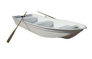 Amber 430 Plastic Boat  t