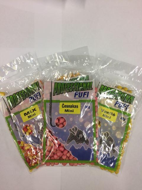 Peldošās āķa ēsmas Professional Pufi MINI Honey 30g.