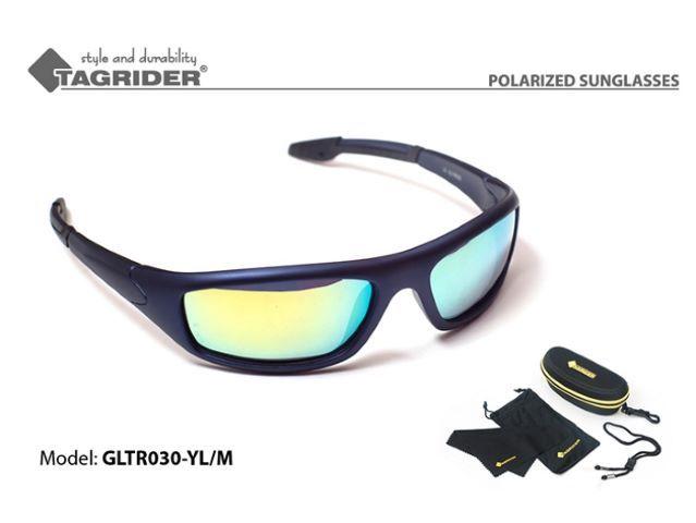 Polarizētās saulesbrilles TAGRIDER GLTR030-YL / M