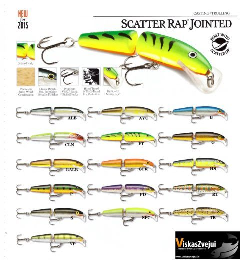 RAP Jointed Rapala Scatter