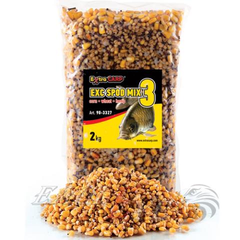 SPOD Mix kukurūza / kvieši / kaņepes