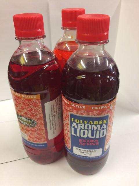 Liquid barība Profesionālā Aroma karūsa