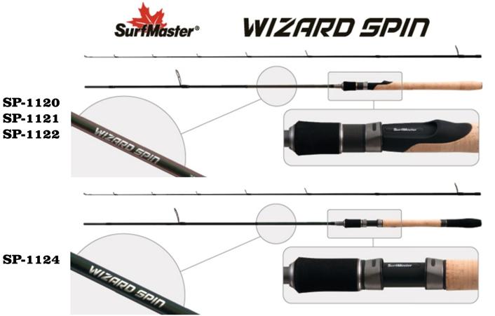 Spinning SurfMaster Spin Wizard