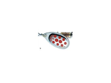 Mepps Spinner Aglia Silver / Red