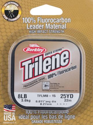 Makšķerauklas Berkley Trilene 100% fluoroglekļa 25m
