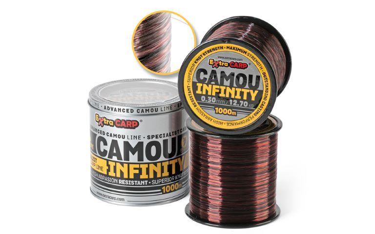 Makšķerēšana line Camo INFINITY 1000
