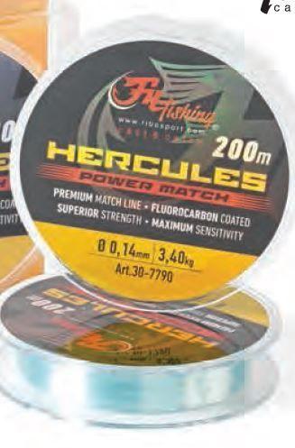 Vaļu Hercules, 200m.