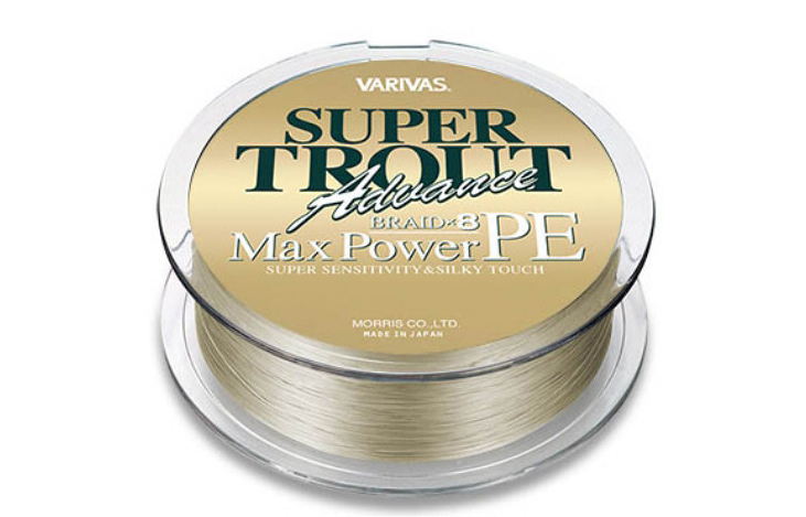 Variva New Super Trout Advance Max PE 150 m