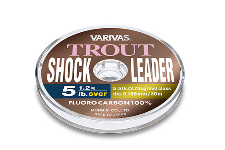 Variva Trout Shock Leader fluoroglekļa 30