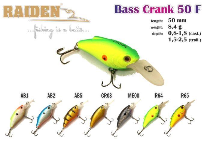 Rapala Raiden «Crank Bass» 50 F