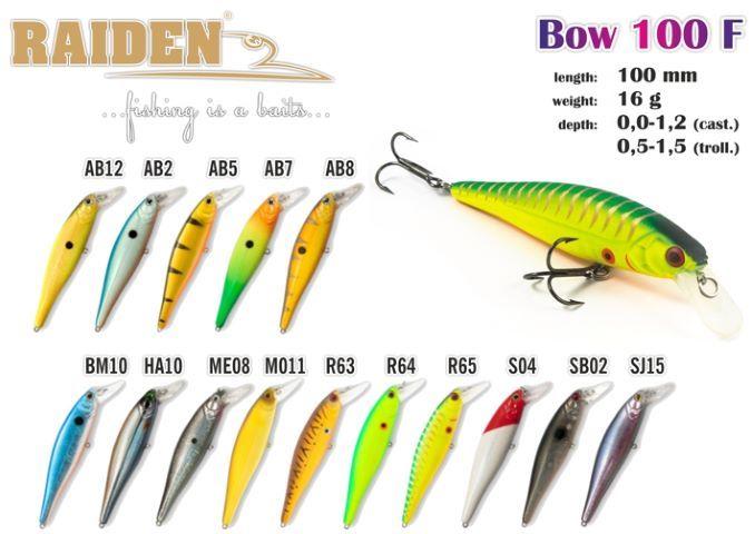 Rapala Raiden «Bow» 100 F