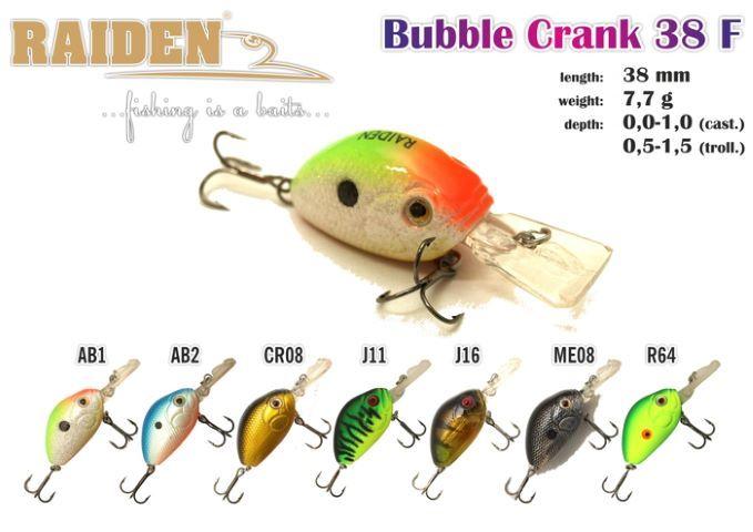 Rapala Raiden «Bubble Crank» 38 F