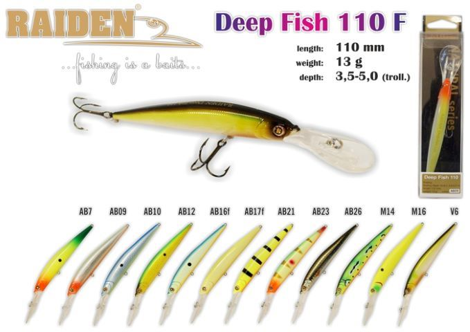Rapala Raiden «Deep Fish» 110 F
