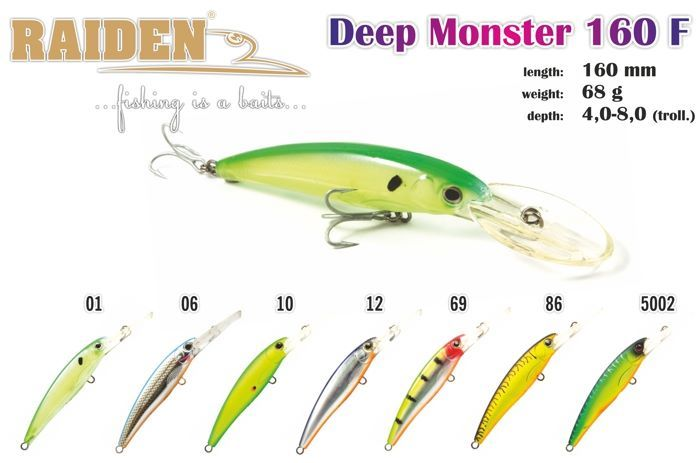 Rapala Raiden «Deep Monster» 160 F