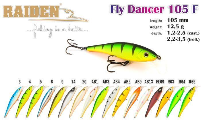 Rapala Raiden «Fly Dancer» 105 F