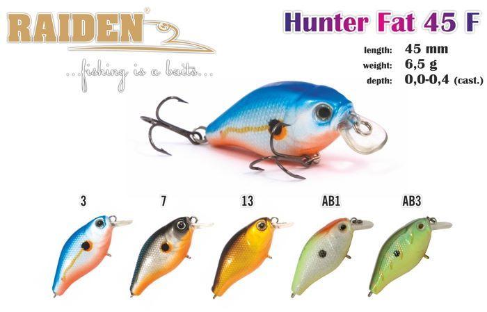 Rapala Raiden «Fat Hunter» 45 F