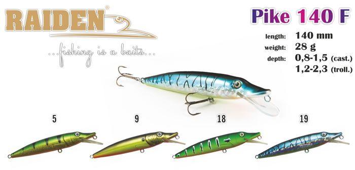 Rapala Raiden «Pike» 140 F