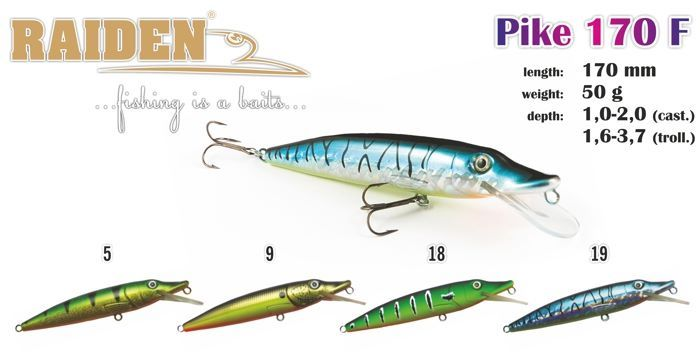 Rapala Raiden «Pike» 170 F