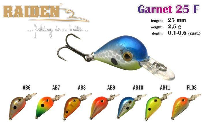 Voblers Raiden «Garnet» 25 F