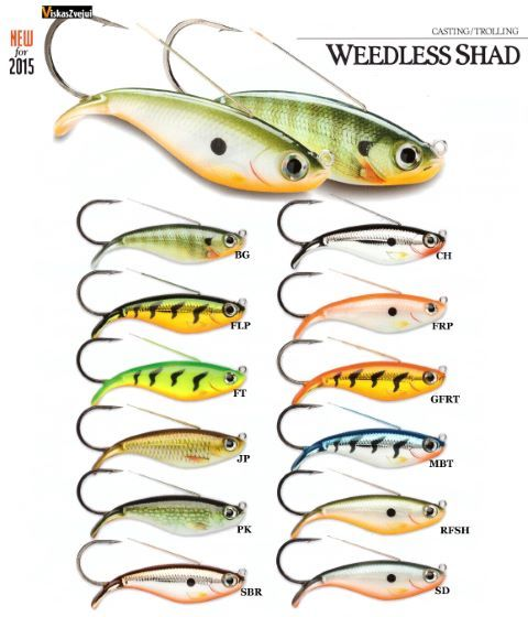 Weedless Shad NEW