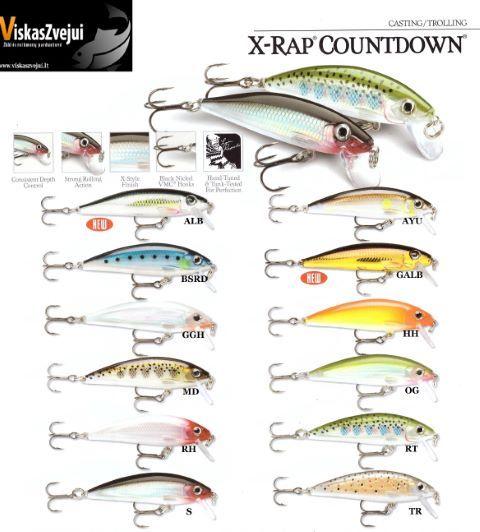 Rapala X-RAP COUNTDOWN